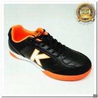 [KS] Sepatu futsal KELME land precision black orange 2018