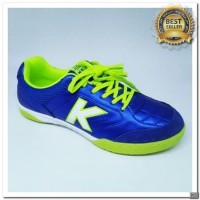 [KS] Sepatu futsal KELME land precision royal blue neon 2018