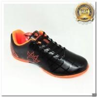 [KS] sepatu futsal anak kelme star 9 junior black orange 2018