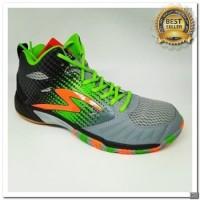 [KS] Sepatu olahraga specs Quicker mid Warna : granite green 2018