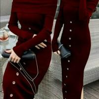 Dress Rara - Dress Wanita - Dress Casual - Dress Rajut - Baju Cewek