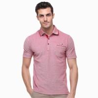 LGS - Regular Fit - Polo Shirt - Logo LGS - Dada - Merah