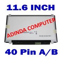 LCD LED 11.6 Acer Aspire One 722 AOD 725 AOD 756 AO722 AO725 AO725