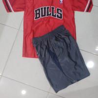 Baju Basket Anak/Dewasa Setelan Lengan