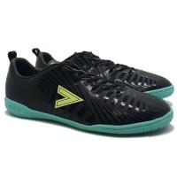 Sepatu Futsal Mitre Optimize IN - Black/Yellow Lite/Tosca