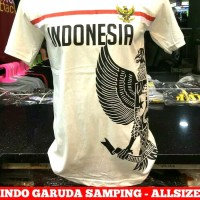Baju Kaos Distro Gaul Tulisan Unik Garuda Indonesia Garuda Samping