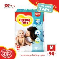 Mamamia Baby Diapers Soft Magic Tape M40 Popok Model Perekat