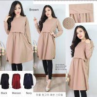 Tunik / Blouse Remaja / Blouse Muslimah / Baju Atasan wanita Muslimah