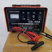 Charger Aki 50 Ampere bisa accu 12v & 24v Merk ROCIA / baterai