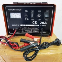 Charger Aki 20 Ampere bisa accu 12v & 24v Merk ROCIA / baterai