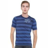 LGS SALE - Regular Fit - Stripe Tee - Blue - Casual T-Shirt