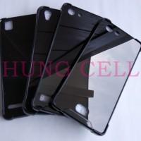 Case Anti Crack Black Bahan Fiber Mika / Acrylic All Type ANTI BENTUR
