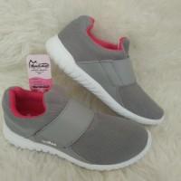 Sepatu Slip On Wanita - Ardiles Chow-chow Abu Fusia - Sepatu Murah