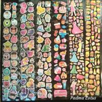 Stiker Timbul Boleh Pilih Gambar Motif Sticker Karakter Kartun Murah - cwe