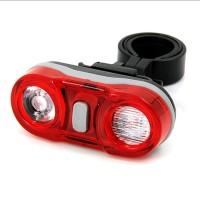 Lampu Sepeda 2 LED @1 Watt Super Bright