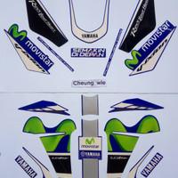 lis body/ striping yamaha new vixion advance 150 livery movistar gp