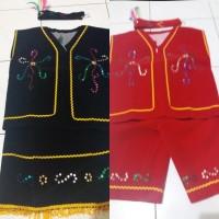 Pakaian dayak anak Tk - baju adat kalimantan