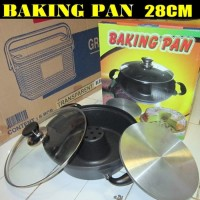 cetakan kue bolu backing pan 28cm