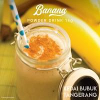 Bubuk Minuman Banana bubble drink Powder drink 1kg Javaland