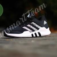 Sepatu Olahraga Pria Adidas EQT running black white