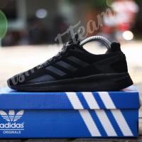 Sepatu adidas neo questar ride / adidas zoom triple black / sekolah