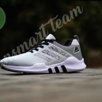 Sepatu Olahraga Pria Adidas EQT running grey black