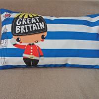 Sarung Bantal Unik & Cantik Sofa / kursi Murah London Boy 30 x 50 cm