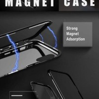 Magnetic Case For Iphone 6 / 6s with Back tempered Glass Magnet