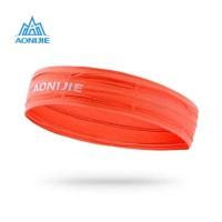 AONIJIE E4086 Sweatband Headband Anti keringat kepala BANDANA ORANGE