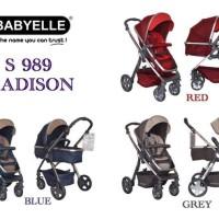 STROLLER BABYELLE MADISON S989 KERETA DORONG BAYI NYAMAN UNTUK TIDUR