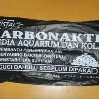 ARANG KARBON AKTIF MEDIA FILTRASI AQUARIUM