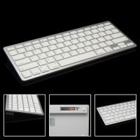 Keyboard Wireless Bluetooth Keyboard iOS Apple Android PC Imac - PUTIH