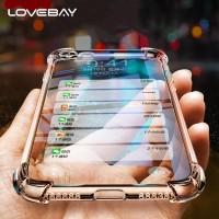 Anti Crack Soft Silicone Case Apple iPhone 5 5s SE 6 6s 7 8 Plus X XR