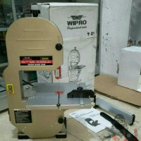 Band Saw Wipro JDD 200 7.5 Inch Low Watt 350 Mesin Gergaji Potong Kayu