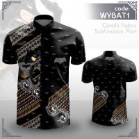 Kemeja Batik Wayang BATMAN by Artlantis Store