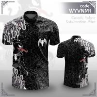 Kemeja Batik Wayang VENOM by Artlantis Store