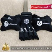 PAKET HEMAT BANTAL MOBIL TRANSFORMER / AKSESORIS MOBIL - PAKET A
