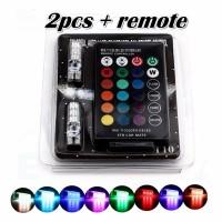 Bohlam T10 Remote RGB Led T10 Rgb