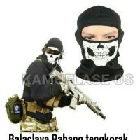 Masker ninja Balaclava Tengkorak RAHANG . MINimal order 12 pcs