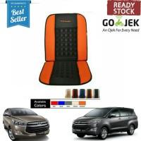 Sandaran Jok Mobil Toyota All New Innova Universal Orange Kombinasi
