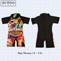 Baju Renang Anak Laki Laki Cars Spiderman Power Ranger Swimsuit