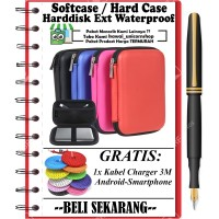 Hardcase Softcase Hardisk Tahan Banting Dompet PowerBank - FREE