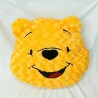 Bantal bentuk kepala winnie the pooh