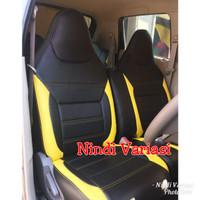 Sarung Jok Mobil Datsun go panca include Bantal Headress