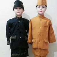 Baju beskap adat sunda // adat betawi size dewasa ( SMA)