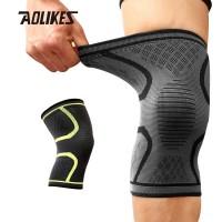 Aolikes 7718 Knee Compression Pad Brace - Pelindung Lutut Deker GREEN