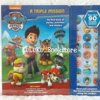 Buku Stiker Anak Edukasi Paw Patrol