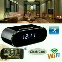 SPY CAMERA WIFI DESK CLOCK HD/KAMERA PENGINTAI JAM MEJA z10