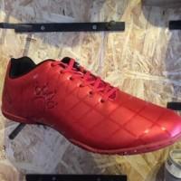 [Wintro_Shop] sepatu futsal KELME star 9 red black original new 2018