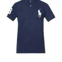Kaos Polo Big Size XXXL - XXXXL POLO Shirt Pria Kuda Berkerah